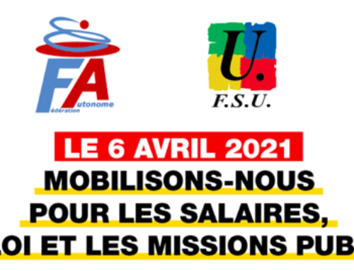 Mobilisation du 6 avril 2021
